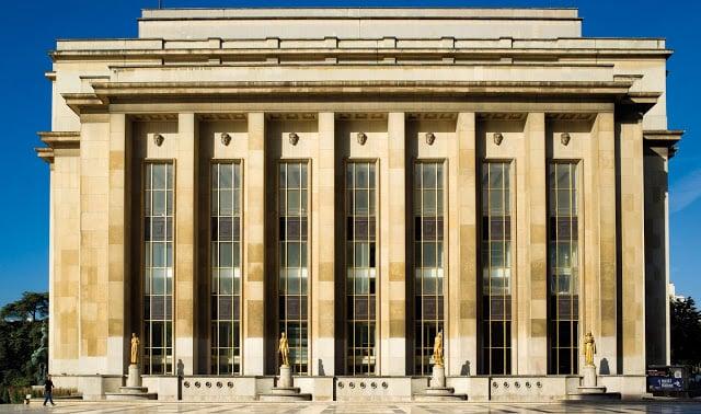 Arquitetura do Museu do Homem em Paris