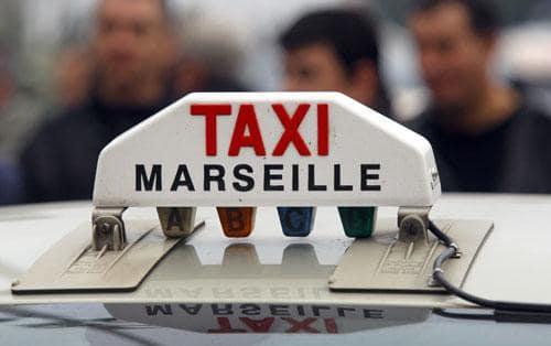 Taxi em Marselha