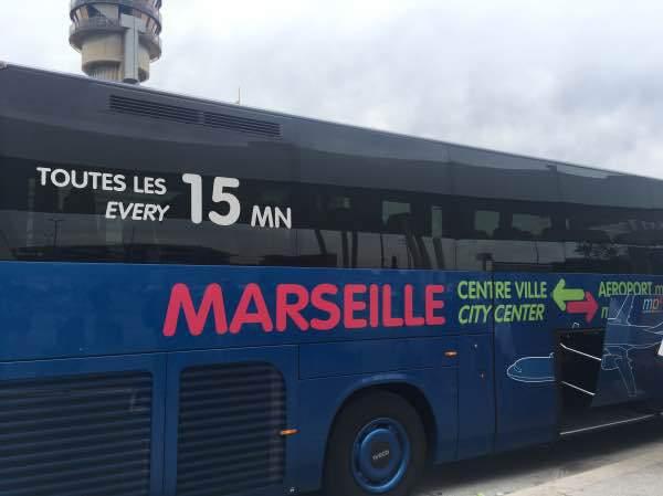 ônibus em Marselha
