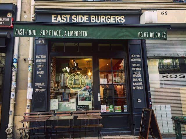 Restaurante East Side Burgers em Paris
