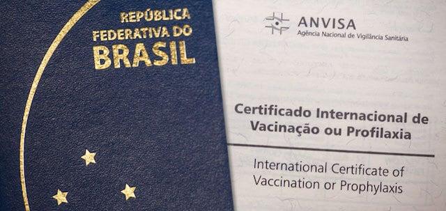 Certificado Internacional de Vacinação - Anvisa