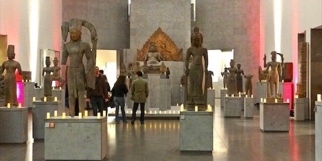 Estátuas Museu Guimet em Paris
