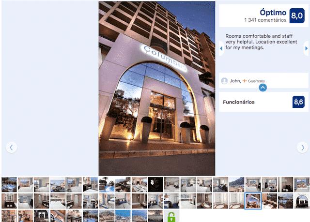 Hotel Columbus de Mônaco