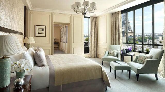 Melhores hotéis em Paris - quarto com vista