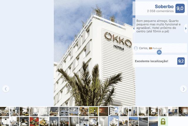 Hotel Okko em Cannes