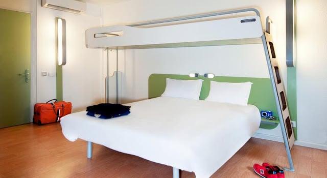 Hotel Ibis Budget Centre - Gare Part Dieu - quarto