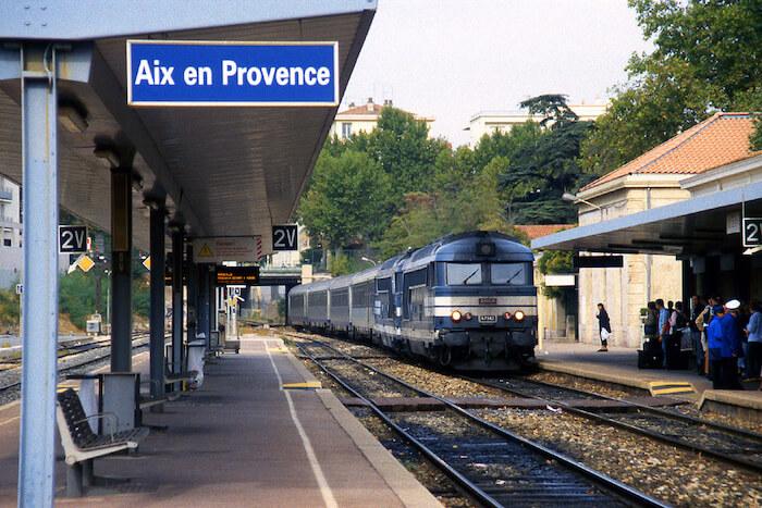 Estação Aix-en-Provence TGV