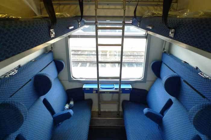 Trem de Paris a Veneza
