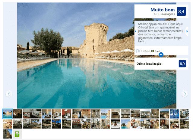 Aquabella Hotel & Spa em Aix