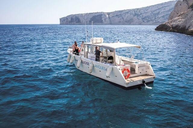 Barco em Marselha