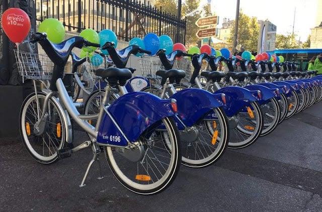 Bicicletas em Marselha