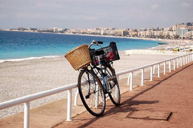 Bicicleta em Nice