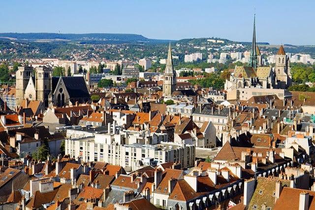 Cidade de Dijon em Borgonha