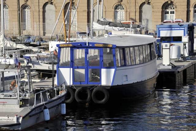 Ferry boat em Marselha