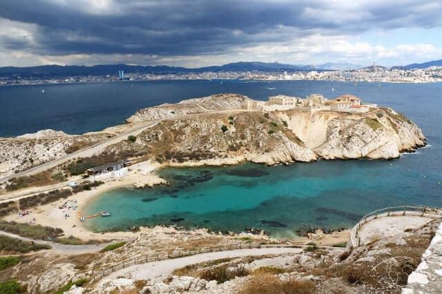 Ilhas do Frioul em Marselha