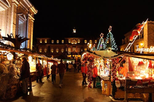 Mercado de Natal - Les Abssesses