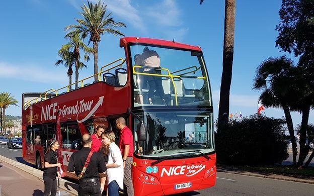 Passeio de ônibus turístico em Nice - Le Grand Tour