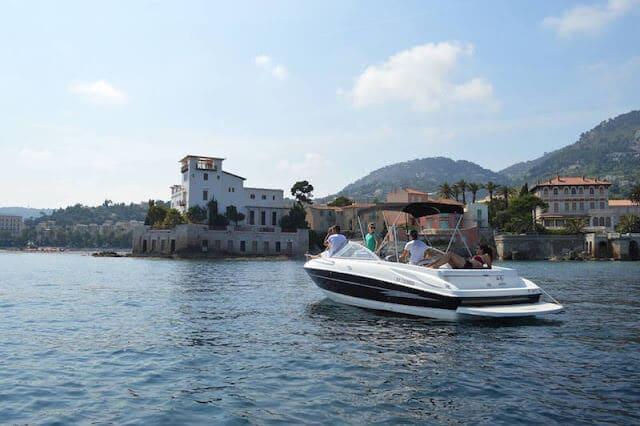 Passeio de barco em Nice