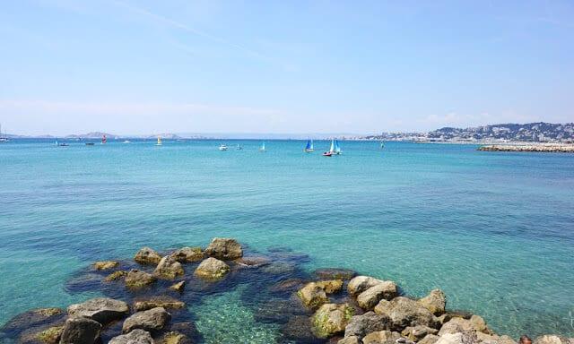 Pointe Rouge em Marselha