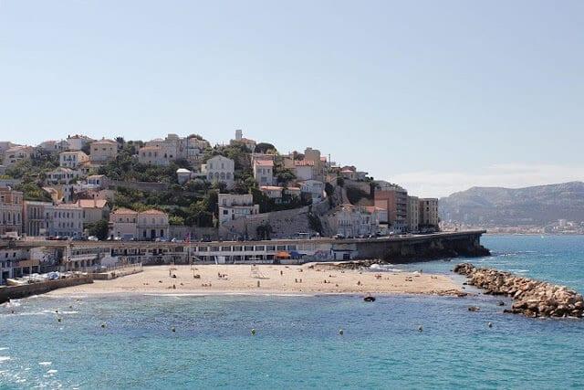 Praia do Profeta em Marselha