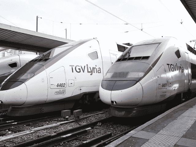 TGV Lyon para Genebra