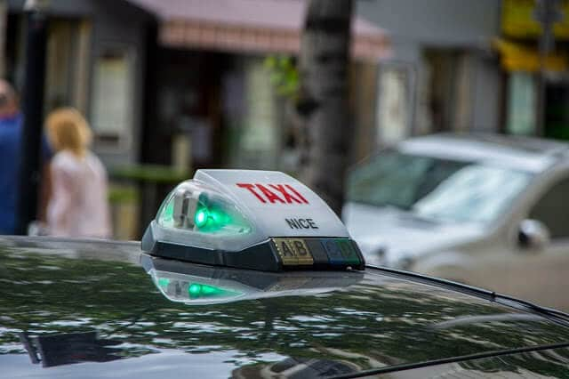 Táxi em Nice