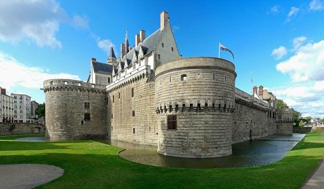 Castelo dos Duques de Bretanha em Nantes