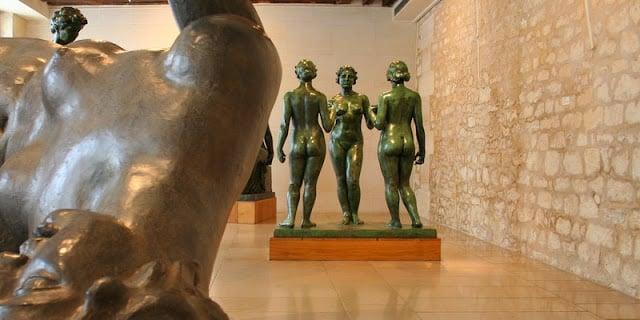 Esculturas do Museu Maillol em Paris