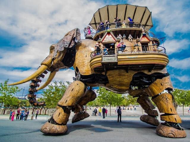 Les Machines de lÎle em Nantes