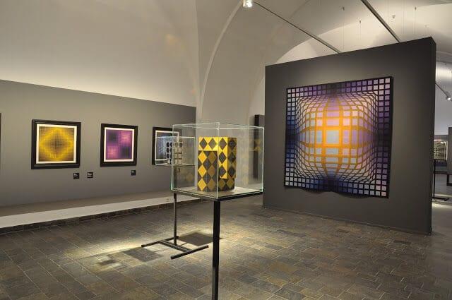 Exposição na Fundação Vasarely