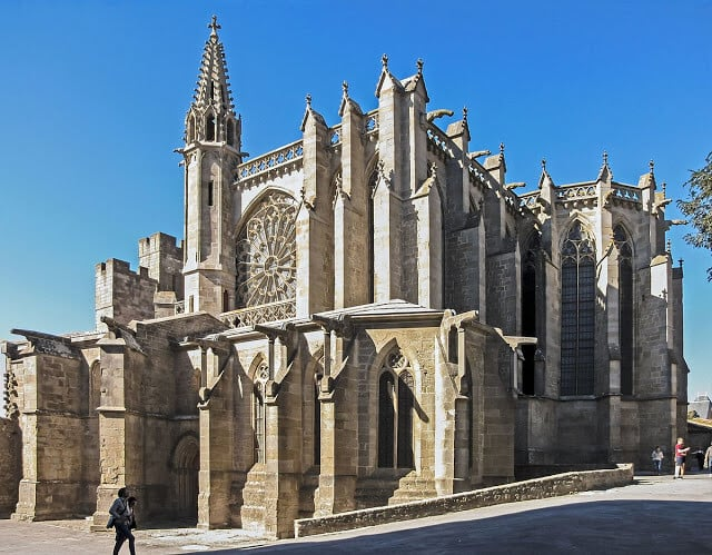 Basílica de Saint-Nazaire em Carcassonne