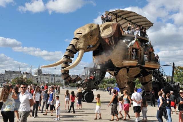 Iles de Machines em Nantes