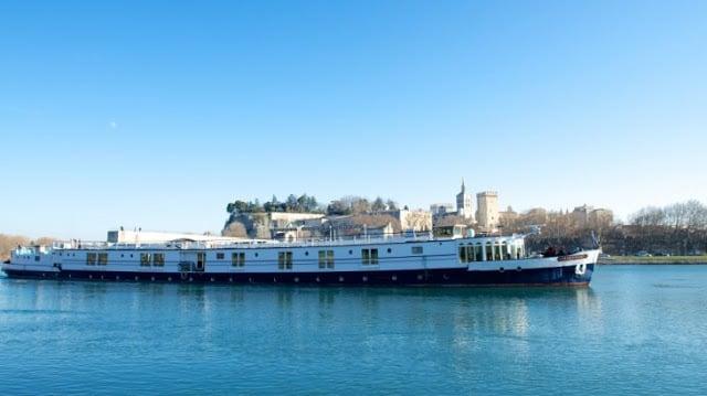 Cruzeiro pelo rio Rhône