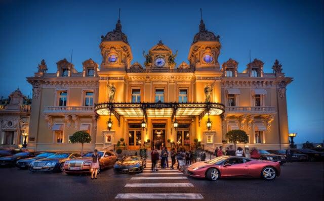 Cassino Monte Carlo em Mônaco