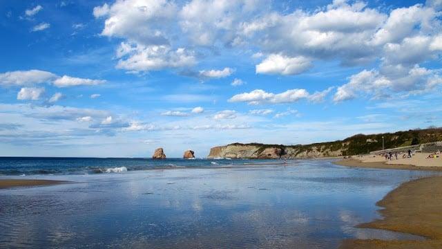 Praia Grande em Hendaye